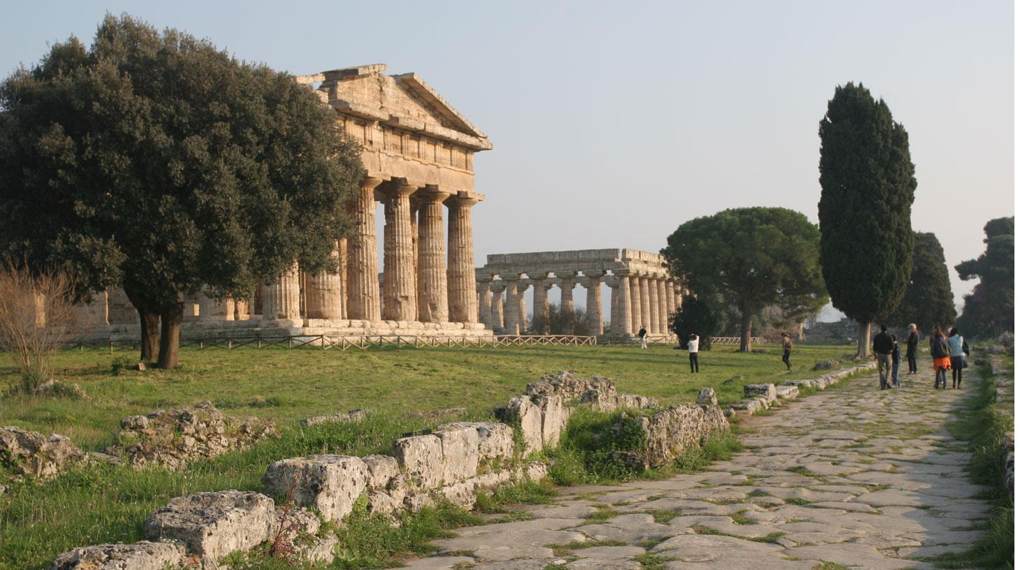 Le site antique de Paestum