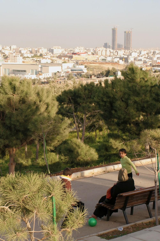 Le parc du roi Hussein, Amman