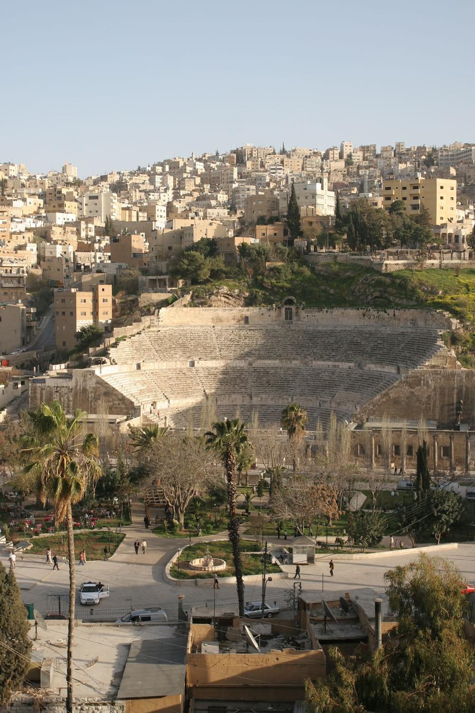 Le théâtre romain d'Amman