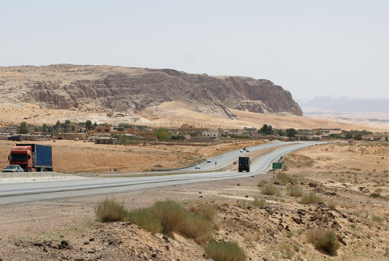 L'autoroute du désert