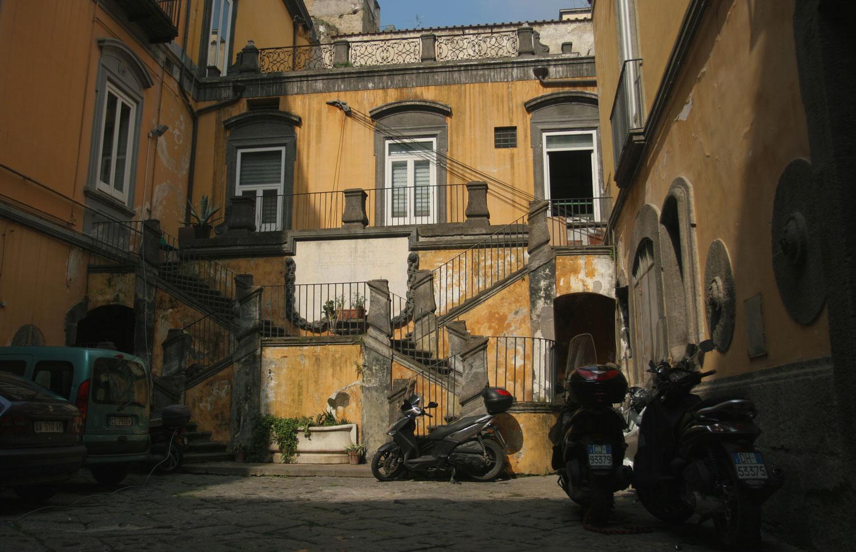Palais de Spaccanapoli, Naples