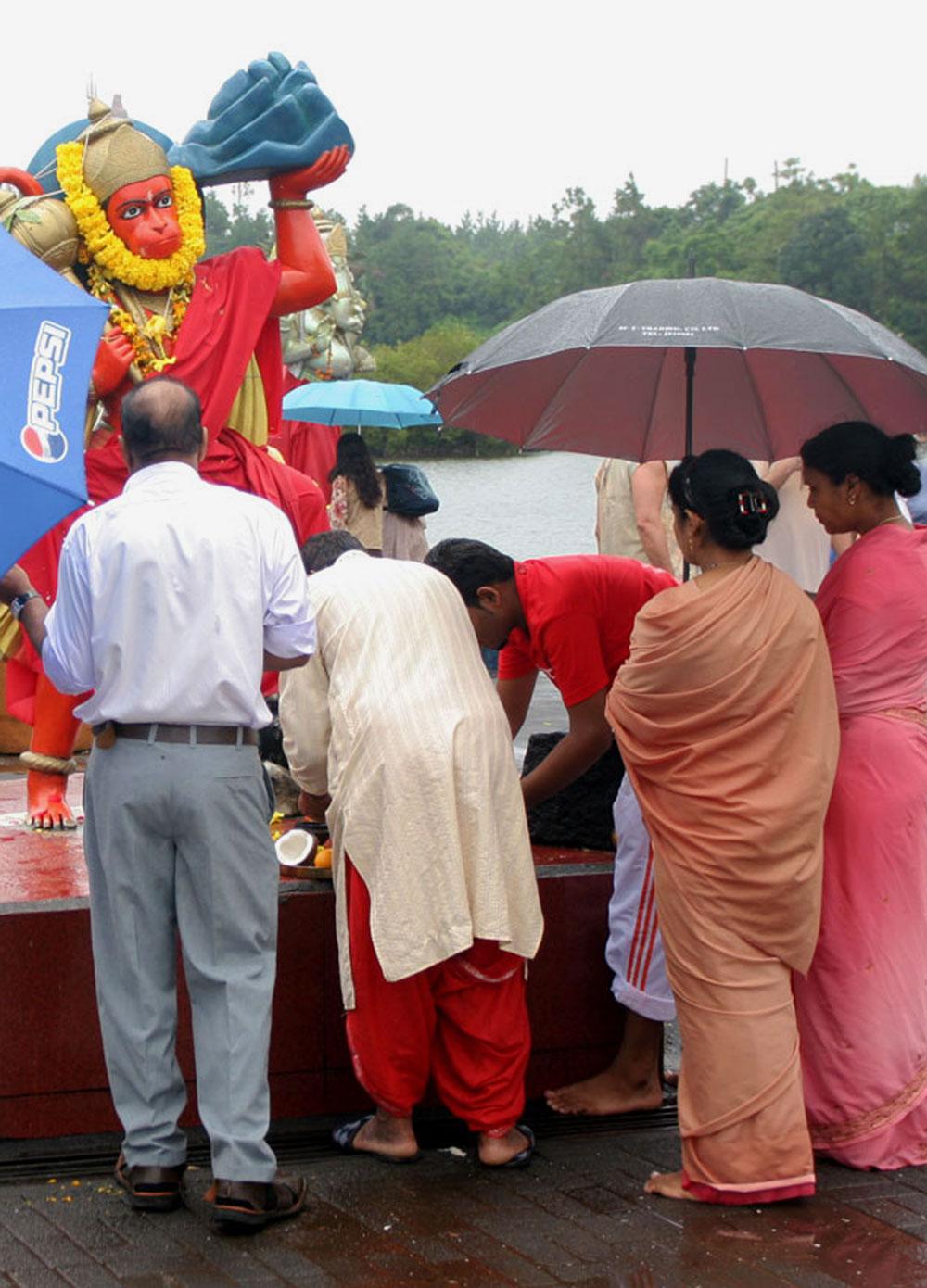Sanctuaire hindou de Grand Bassin