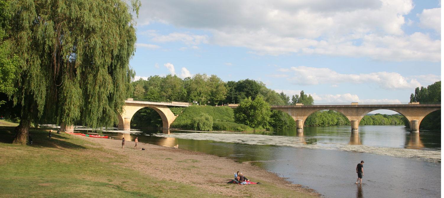 Confluence de la Dordogne et de la Vézère