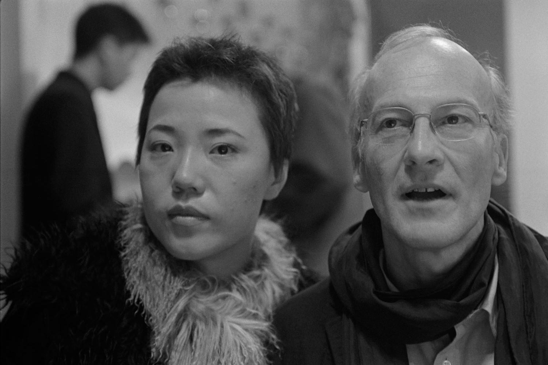 L'Ecrivaine Mian Mian et le peintre Francis Lagrange