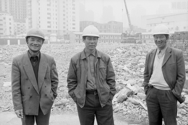 Travailleurs migrants sur un chantier