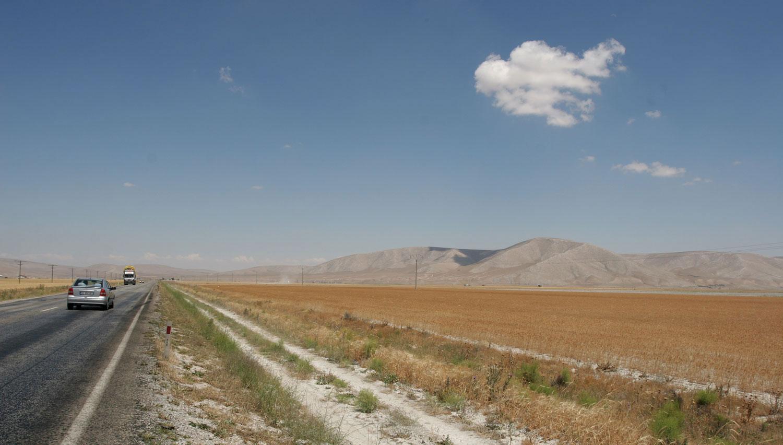 Route du sud de l'Anatolie