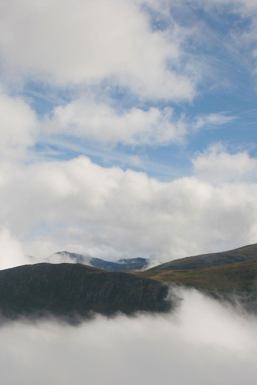 Montagnes de la région de Vik