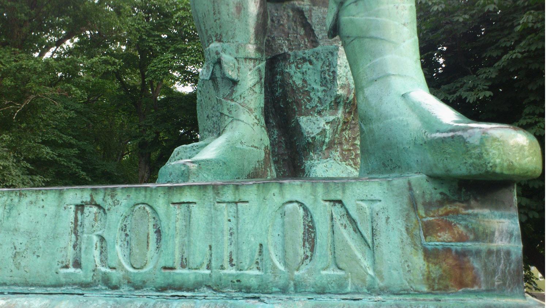 Statue de Rollon, Ålesund